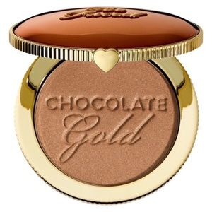 2/$40 Too Faced Chocolate Gold Bronzer Full Size